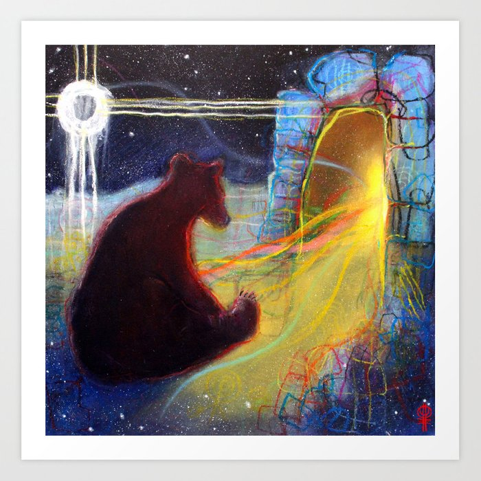 Dreaming Of The Time To Come Art Print