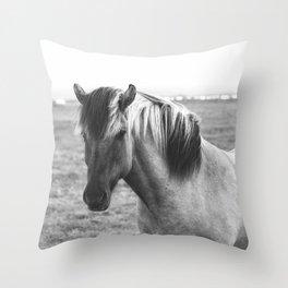 Pony Up Throw Pillow