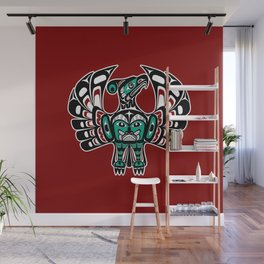 Northwest Pacific coast Haida art Thunderbird Wall Mural