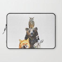 Woodland Animal Friends Laptop Sleeve