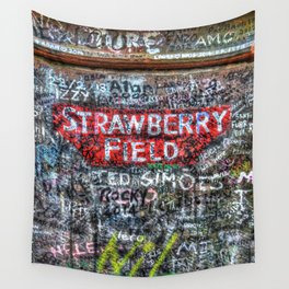 Strawberry Field Wall Tapestry