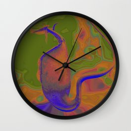 Nepenthes Wall Clock