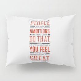 Lab No. 4 Keep Away From People Mark Twain Inspirational Quote Pillow Sham