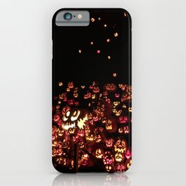 The Great Pumpkin Gathering iPhone Case