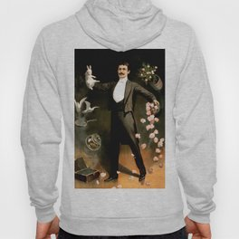 Vintage Rabbit Doves and Magician Hoody