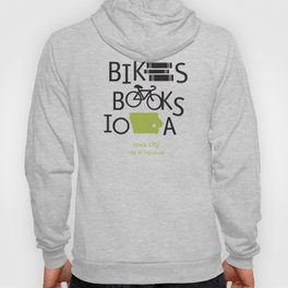Bikes Books Iowa Hoody