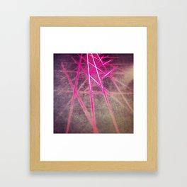 Scanner Framed Art Print