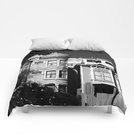 Kind Of Three Of A Kind - B&W Comforters