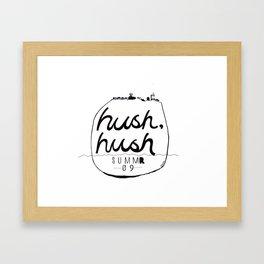 Hush, Hush Framed Art Print