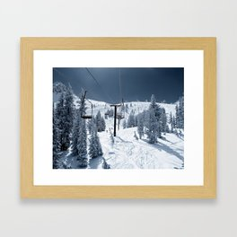 Mammoth Mountain: Chair 12 Framed Art Print