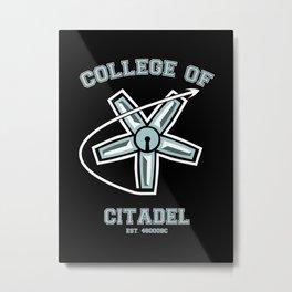 COLLEGE OF CITADEL Metal Print