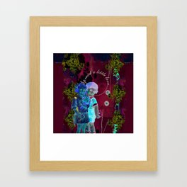 Spread a Little Love Framed Art Print