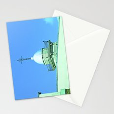 Heaven, cross righteous God. Stationery Cards