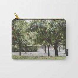 Granada Orange Tree Patio Carry-All Pouch