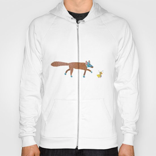fox and the duck Hoody