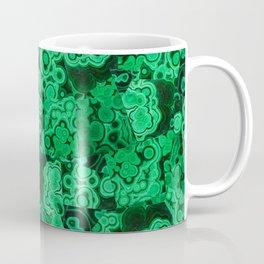 Malachite Puzzle Piece Tiles Coffee Mug
