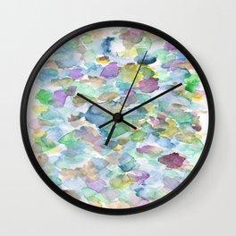 150725 My Happy Bubbles 28 Wall Clock