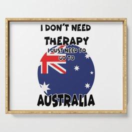 Australia Serving Tray
