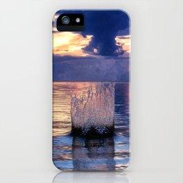 Sunset Splash iPhone Case