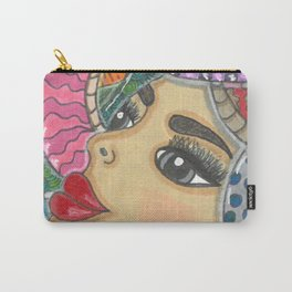 Colorful Medusa Carry-All Pouch