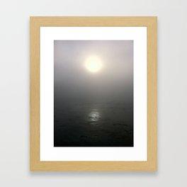 Sunrise in Carmel, CA Framed Art Print
