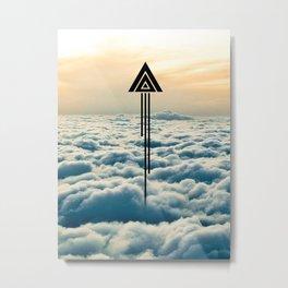 Poly Shuttle Metal Print