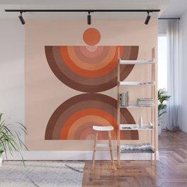Abstraction_SUN_Rainbow_Minimalism_002 Wall Mural