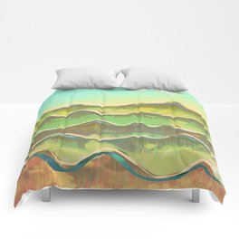 Magic Flight over the Sea of Clouds Comforters