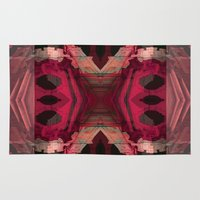 baroque Area & Throw Rugs featuring BAROQUE by Mike Maike