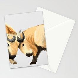 Takin it head on Stationery Cards