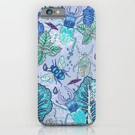 Frozen bugs in the garden iPhone Case