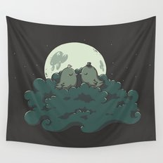 Moonlight Kiss Wall Tapestry