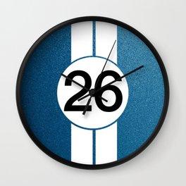 Lucky 26 Wall Clock