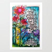 """Be True"" Art Print"
