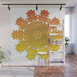 background image ornament Wall Mural