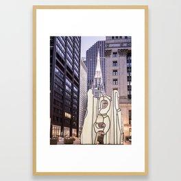 Church and Art Framed Art Print