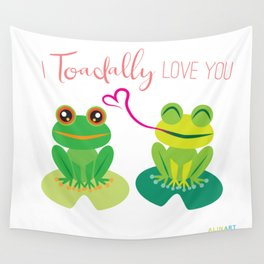 I Toadally Love You Wall Tapestry