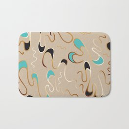 Lucky Squiggles – A Touch of Tiffany Bath Mat