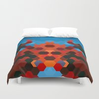crab Duvet Covers featuring CRAB by ED design for fun