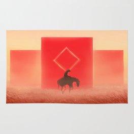 Red Prairie Rug