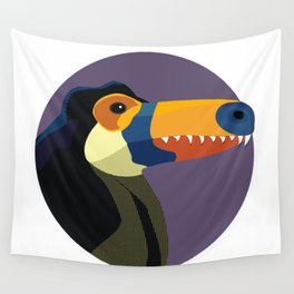 Dino-Toucan Wall Tapestry