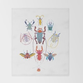 Stitches: Bugs Throw Blanket