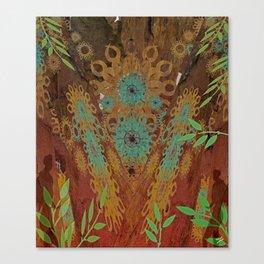 Woodhenge  Canvas Print