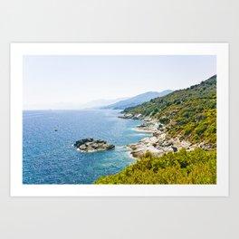 Corse 1.4 Art Print