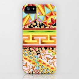 Gypsy Caravan Luxe Stripe iPhone Case