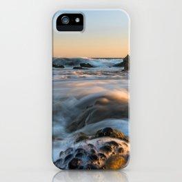 Sunset Tide at El Matador Beach iPhone Case