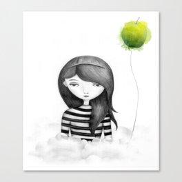 Flighted Canvas Print