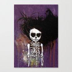 骸骨 壱 Canvas Print
