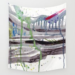 Bridge to New Wall Tapestry