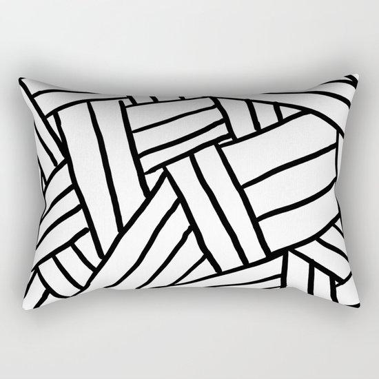 Raw Pattern Series: n.1 Rectangular Pillow